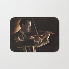 The Violinist Bath Mat
