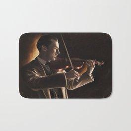 The Violinist Bath Mat