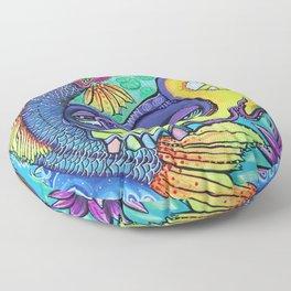 Dragon's Gate Floor Pillow