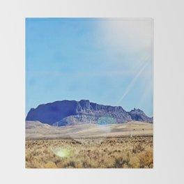 Nevada Plateau Throw Blanket