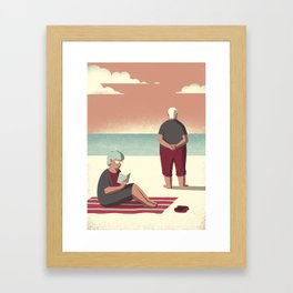 Day Trippers #10 - Sunset Framed Art Print