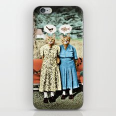 Two Cool Kitties: What's for Lunch? iPhone & iPod Skin