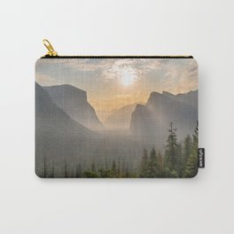 Morning Yosemite Landscape Carry-All Pouch