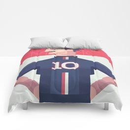 Ibra 10 - PSG  Comforters