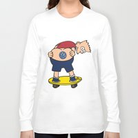 volkswagon Long Sleeve T-shirts featuring Bart Hole by BulldawgDUDE