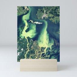 Poyang Lake & Ganjiang River, China Mini Art Print