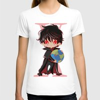 chibi T-shirts featuring Chibi Kamui by Neo Crystal Tokyo