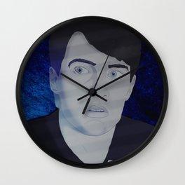 Blue Velvet I Wall Clock