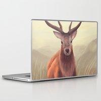 elk Laptop & iPad Skins featuring ELK by Juliana Vidal