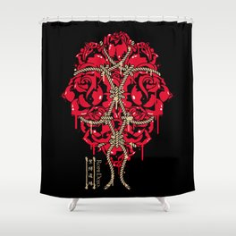 ROPE DOJO - BOUND ROSES Shower Curtain