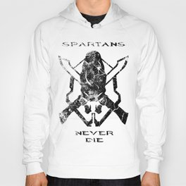 Spartans Never Die  |  Halo Hoody