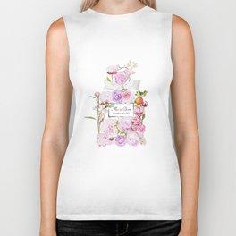 Parfum Perfume Fashion Floral Flowers Blooming Bouquet Biker Tank