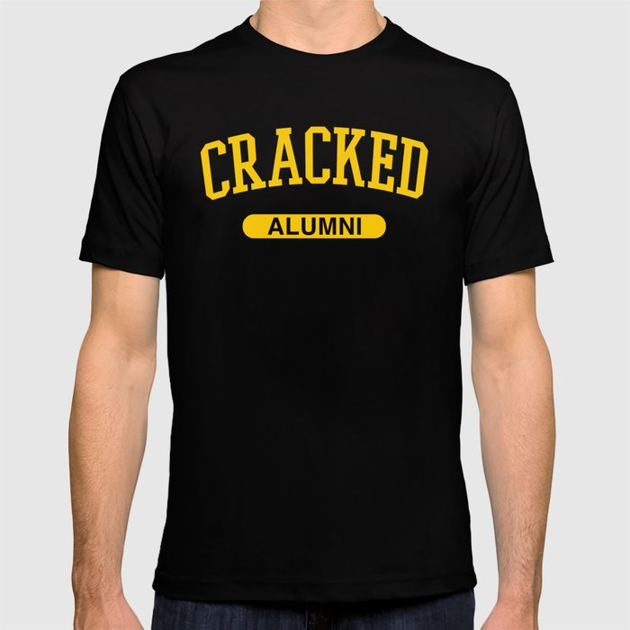 Cracked Alumni T-shirt