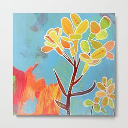 Western Wallflower Metal Print