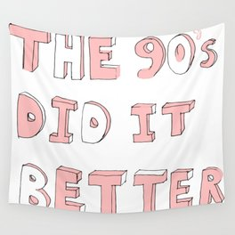 90's Child Wall Tapestry