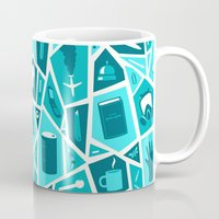 breaking Mugs featuring Breaking Bad by Felix Rousseau