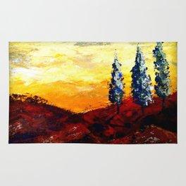 Tuscan Trees Rug