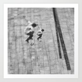 street photo SKATE #skate #streetphoto Art Print