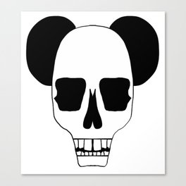 Skulls & Ears Canvas Print