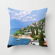 Malcesine - Lake Garda/Italy Throw Pillow