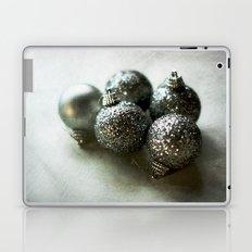 Silver Baubles Laptop & iPad Skin
