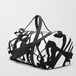 smooth black loops Duffle Bag