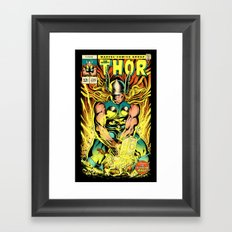 Unleash the Lightning! Framed Art Print