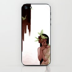 Moths iPhone & iPod Skin