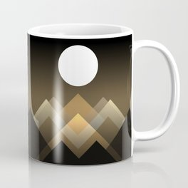 Path between hills Coffee Mug