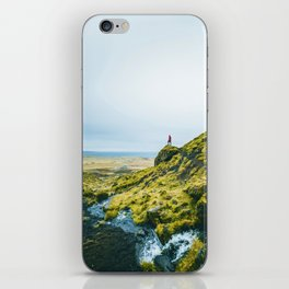 He Found the River's Valley (Color) iPhone Skin