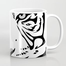 tiger pattern animal flat Coffee Mug