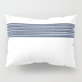 Band in Navy Pillow Sham