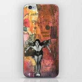 The Laughter Fairy iPhone Skin