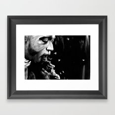 So Now, I Must Shed Innocent Blood Framed Art Print