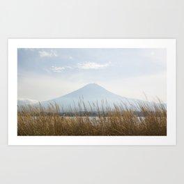 Mt. Fuji at Noon Art Print