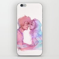 laia iPhone & iPod Skins featuring Lilac Sky by Laia™