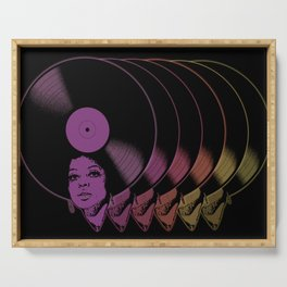 Afrovinyl Continuum Serving Tray