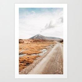 Road, Bolivia Art Print