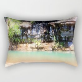 Afternoon on the River Rectangular Pillow