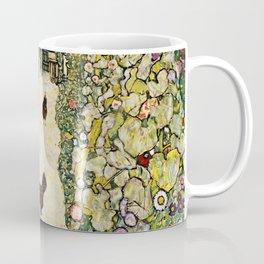 Gustav Klimt Garden Path With Chickens Coffee Mug