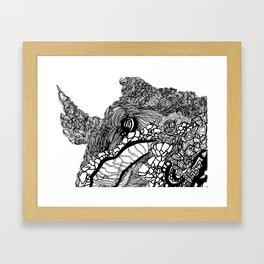 Whale #1 Framed Art Print