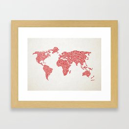 Love, You Are My World Framed Art Print