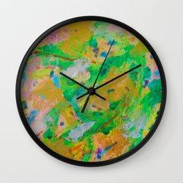 Glorious Garden by Elina Meijer Wall Clock
