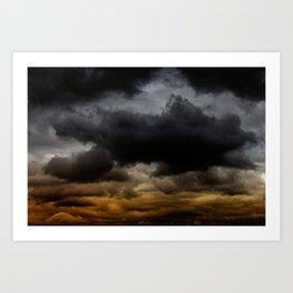 Gloomy Sky 0011 Art Print