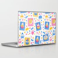 cupcakes Laptop & iPad Skins featuring Cupcakes by Hui_Yuan-Chang