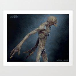 Blind Demon 2 Art Print