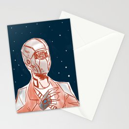 Beyond space mercenary Stationery Cards