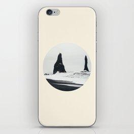 Black Sand Beach Iceland iPhone Skin