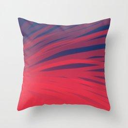Fuschia and Midnight Blue Throw Pillow