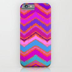 Purple zigzag Slim Case iPhone 6s